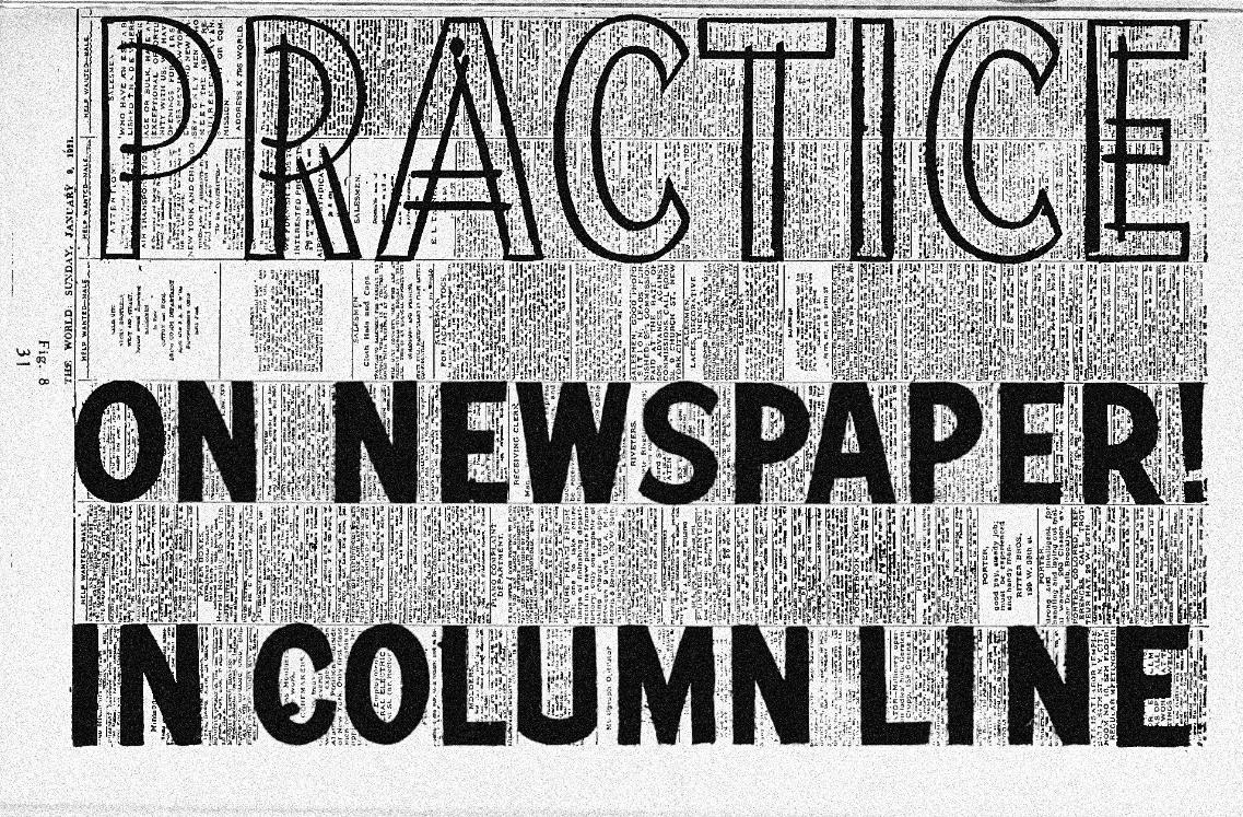 practice-on-newspaper